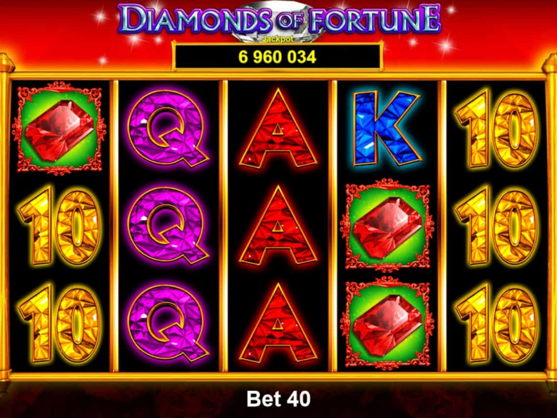 Diamonds of Fortune - Casumo Casino