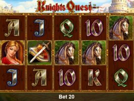 Free slot game Knights Quest online