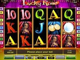 Free casino slot machine Lucky Rose online