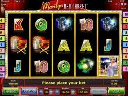 Online free slot Marilyn Red Carpet no deposit