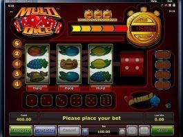 Online casino slot Multi Dice no registration