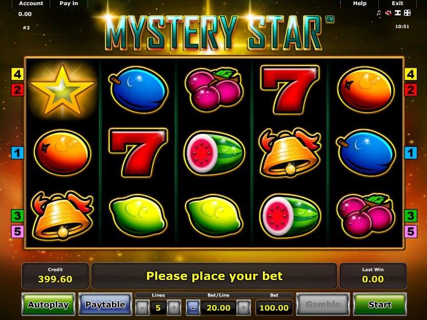 Mystery Star Slot