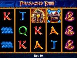 Pharaoh's Tomb casino slot game for fun