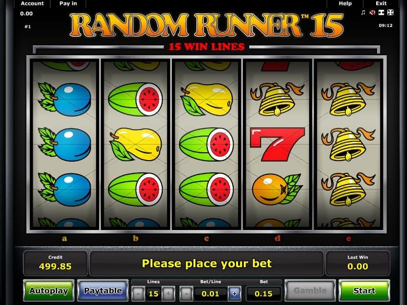Spiele Random Runner 15 - Video Slots Online