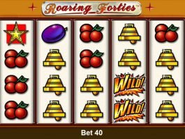 Free casino slot machine Roaring Forties