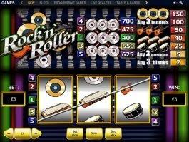 Rock'n'Roller online slot game for free