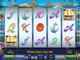 Online free slot machine game Sea Sirens