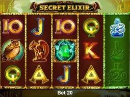 Online casino slot Secret Elixir no deposit