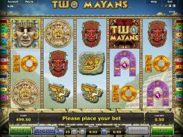 Casino slot game Two Mayans no deposit