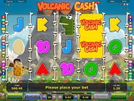 Online free slot game Volcanic Cash for fun