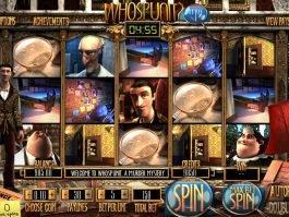 Free slot machine WhoSpunIt?