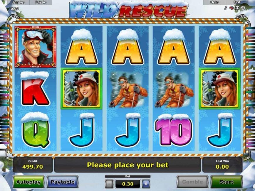 Casino free slot game Wild Rescue no deposit