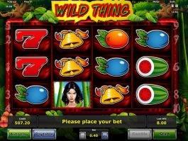 Wild Thing free slot no deposit