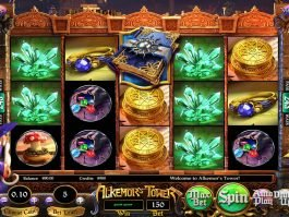 Play free slot machine Alkemor's Tower
