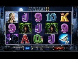 Play free online slot game Avalon II
