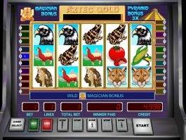 Free slot game Aztec Gold no deposit