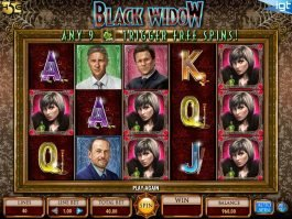 Slot machine Black Widow online for free