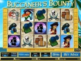 Free slot machine Buccaneer's Bounty online