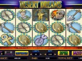 Play Desert Dreams online free slot no registration