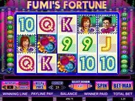 Online slot machine Fumi's Fortune no deposit