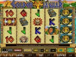 Free online slot game Golden Jaguar