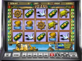 Play free casino slot game Island
