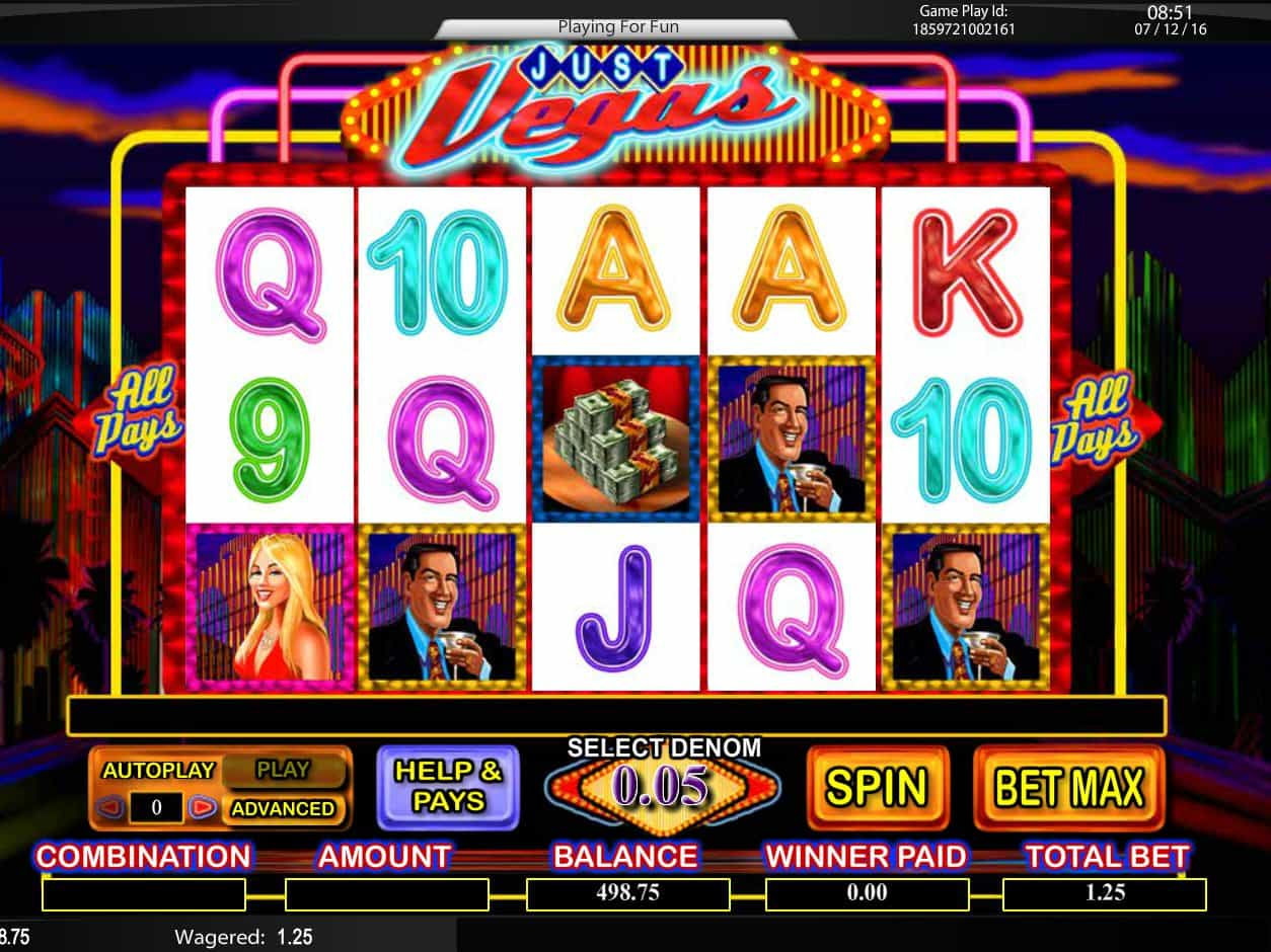 Vegas Slot Machine Games