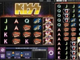 Play free slot machine Kiss no download
