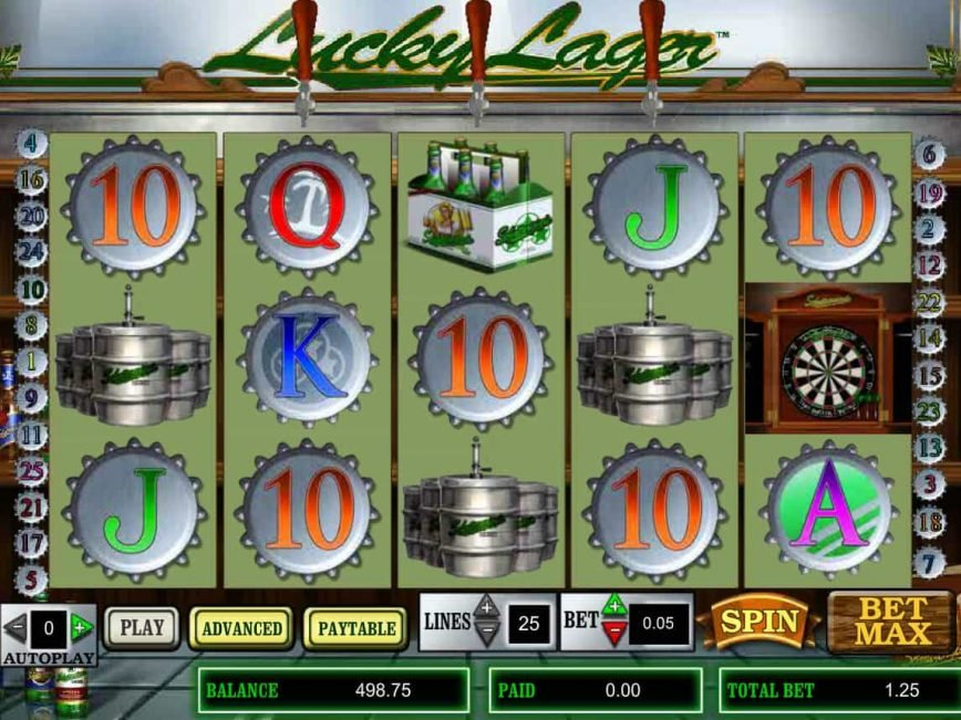 Casino online free slot Lucky Lager for fun
