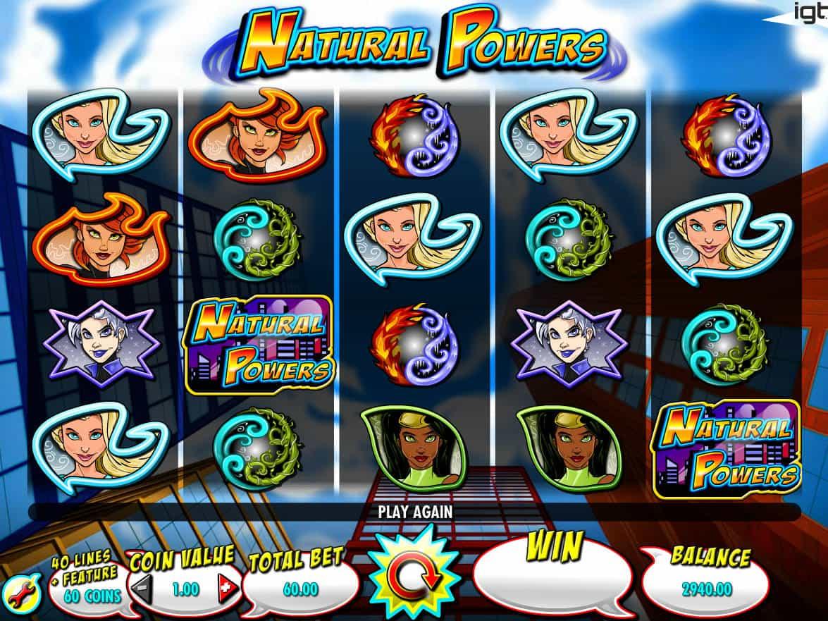Natural Powers Slot Machine