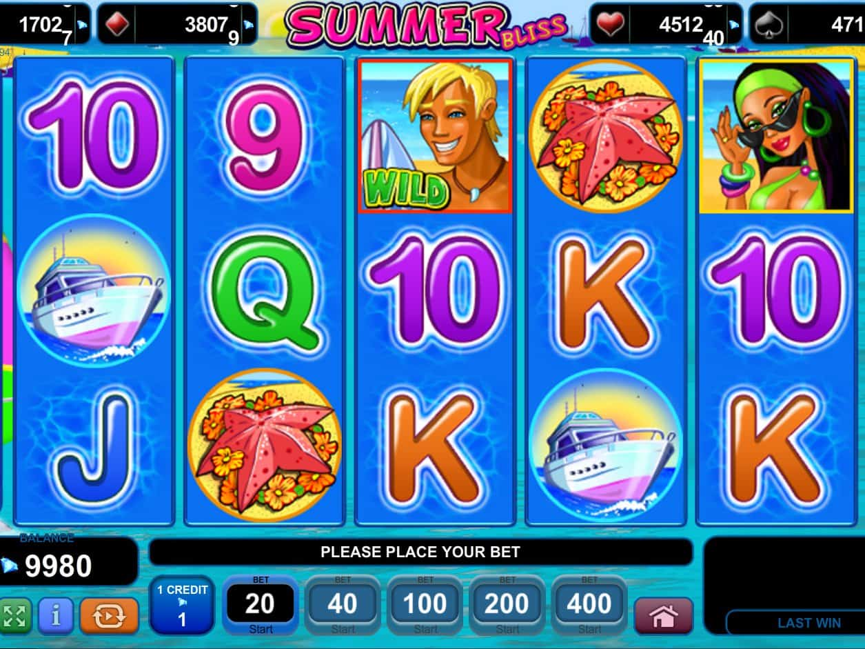 Summer Bliss Slot Machine - Find Out Where to Play Online