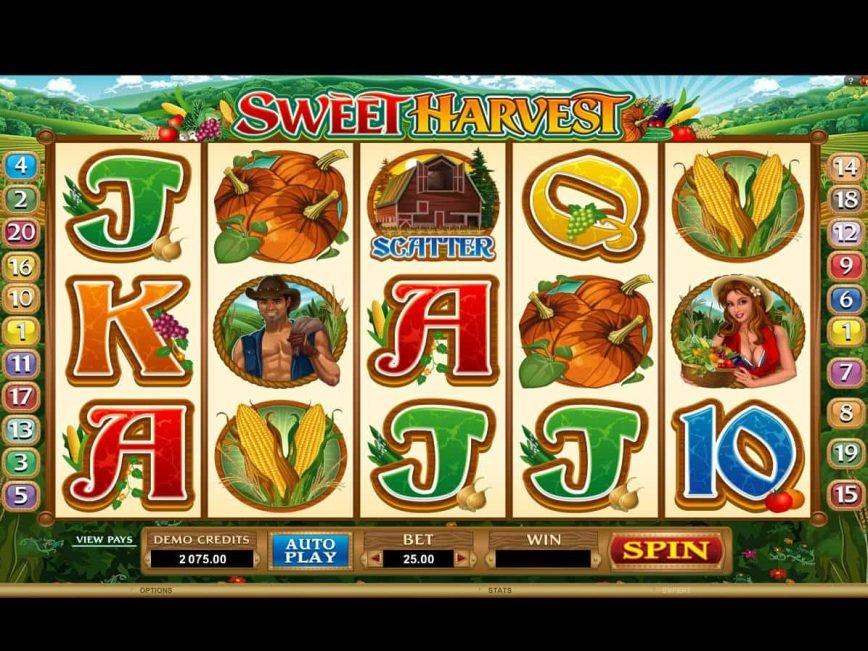 Harvest Fest Slot Machine