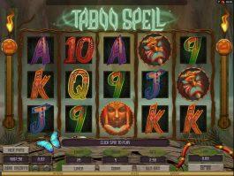 Casino online free slot Taboo Spell
