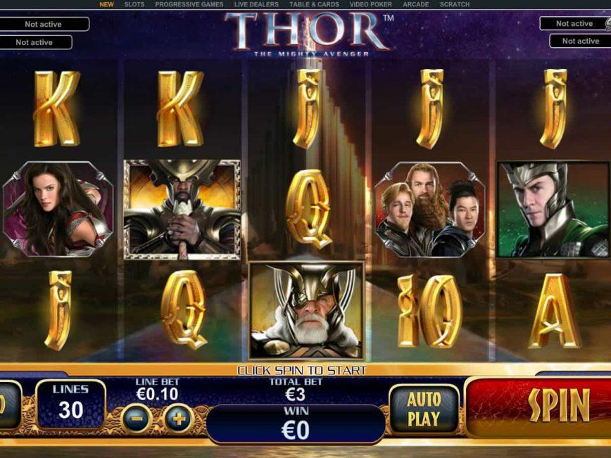 Online slot game Thor no deposit no registration