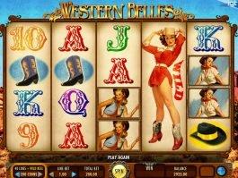 Play online free slot machine Western Belles for fun