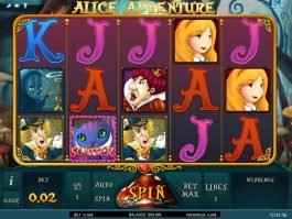 Free slot machine Alice Adventure no deposit