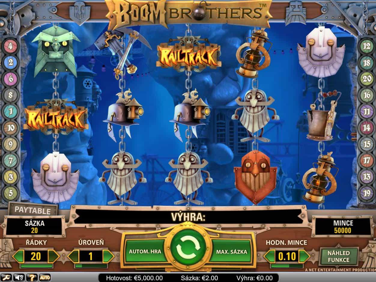 Boom Brothers Slot Machine