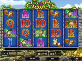 Casino free game Cash N' Clovers