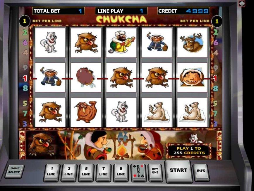 Online free slot machine Chukchi Man no deposit