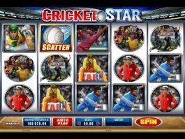 Free slot Cricket Star online