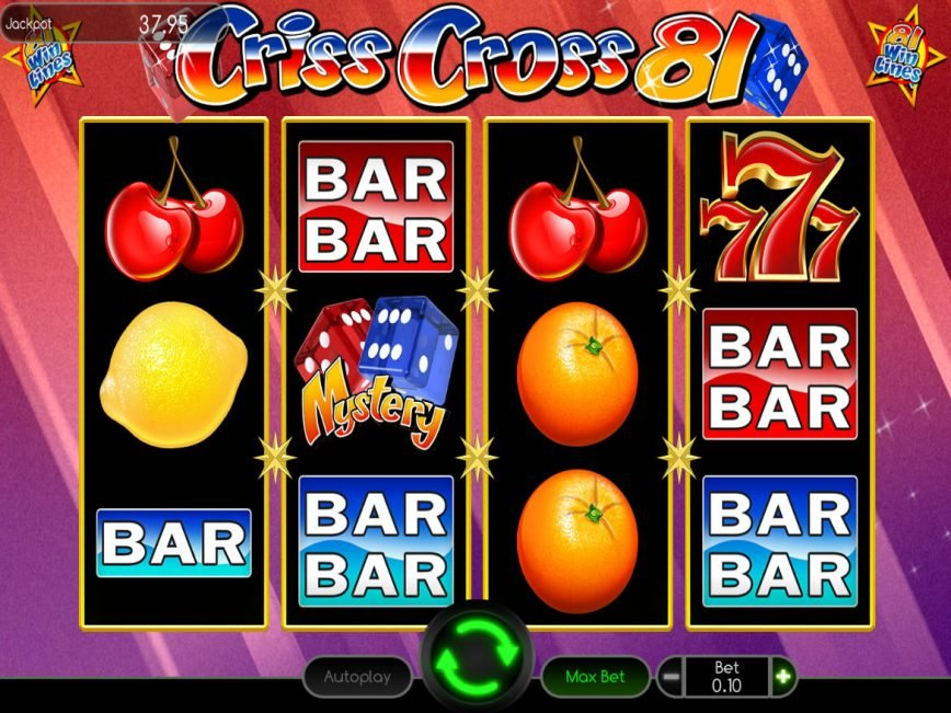 Picture from online free slot Criss Cross 81