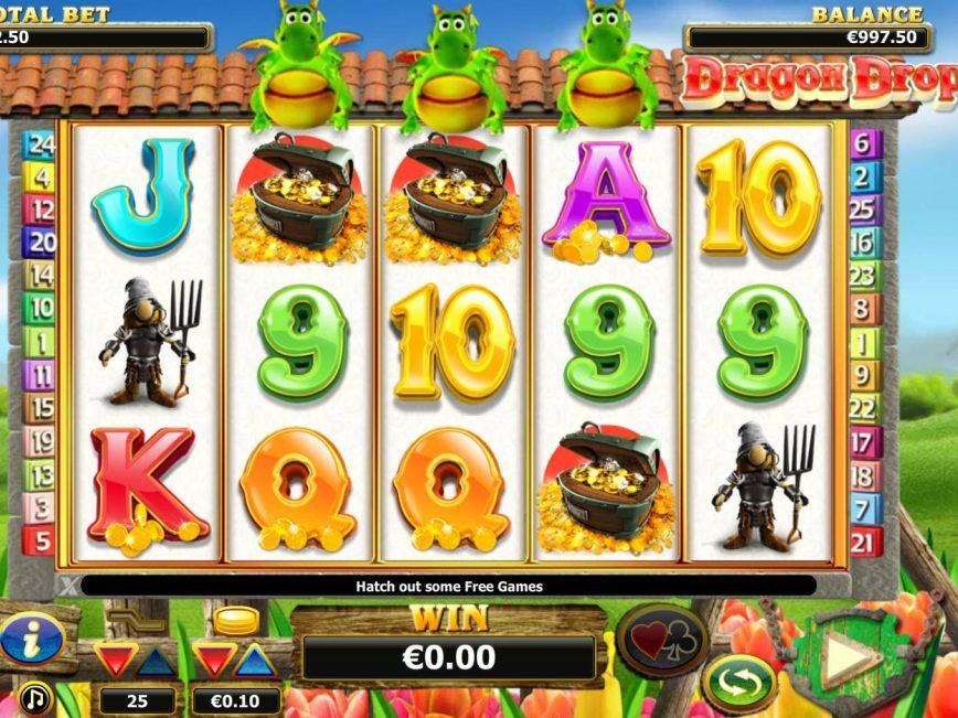 Online free slot Dragon Drop no deposit