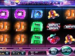 Casino slot machine Event Horizon for fun