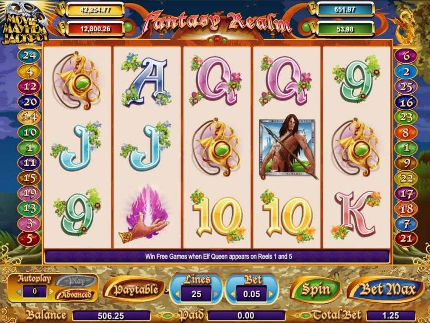 Picture from casino free slot machine Fantasy Realm