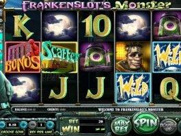 Frankenslot's Monster slot for fun no deposit