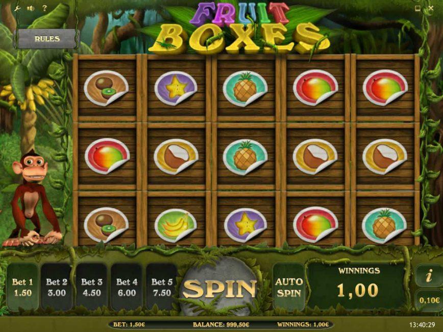 Casino free slot game online Fruit Boxes