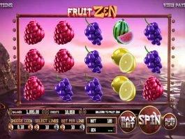 Play casino slot game Fruit Zen