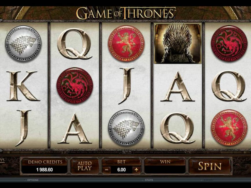 Play slot machine Game of Thrones - 243 ways