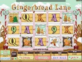 Play free online slot Gingerbread Lane