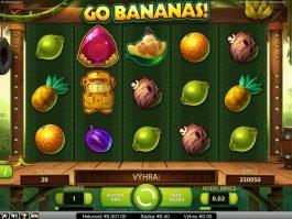 Play free slot game Go Bananas! no deposit